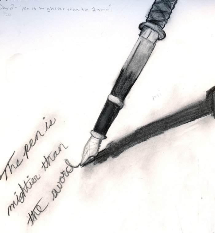 Pen Mightier Than Sword Essay