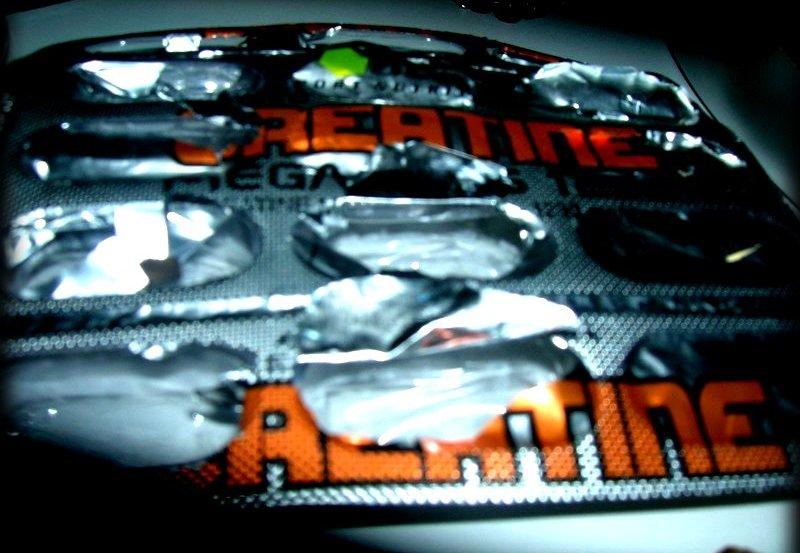 Creatine pill pack