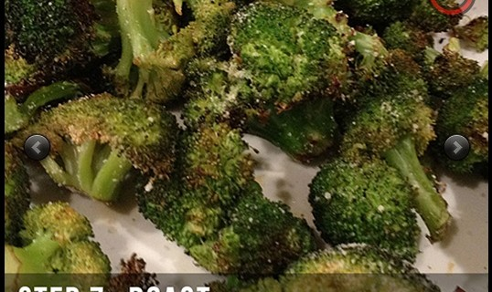 Ultra Low-Carb Spicy Roasted Broccoli