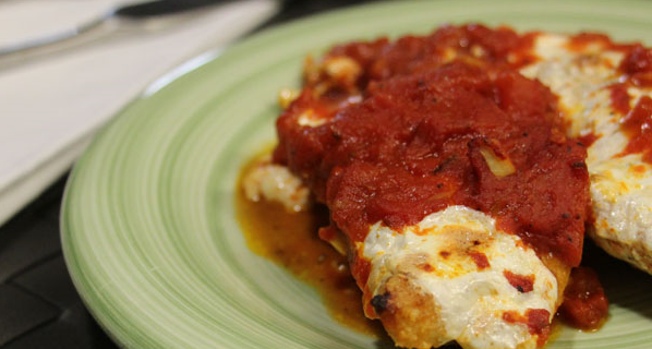 Ultra Low Carb Chicken Parmesan