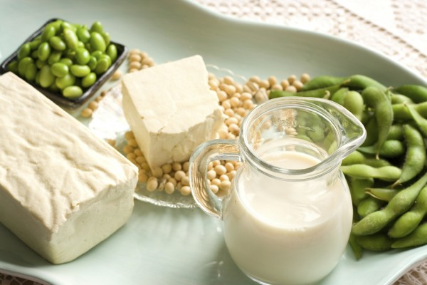 Soy-based products suck as soy milk may be a culprit to potential problems with fat loss