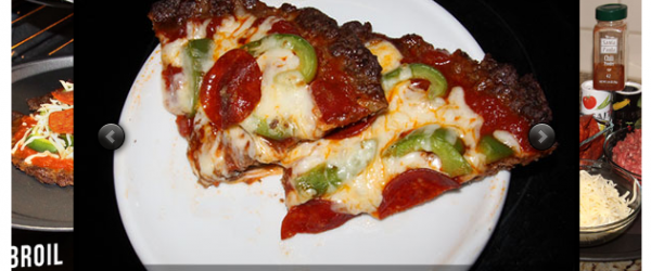 Ultra Low Carb Crustless Burger Pizza