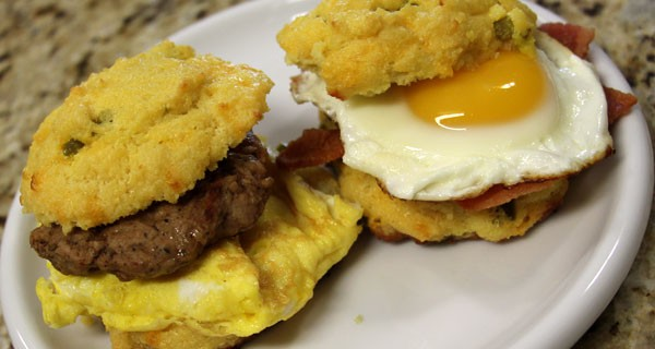 Ultra Low Carb Breakfast Sandwiches