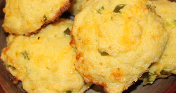 Ultra Low Carb Cheesy Jalapeno Biscuits