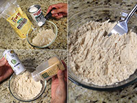ULC Cheesy Jalapeno Biscuits Recipe Step 3: Mix dry ingredients