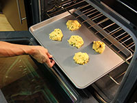 ULC Cheesy Jalapeno Biscuits Recipe Step 8: Bake