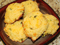 ULC Breakfast Sandwiches Recipe Step 1: Make ULC Cheesy Jalapeno Biscuits