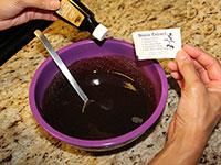 ULC Puppy Chow Recipe Step 3: Add Stevia and Vanilla